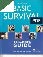 Basic Survival Teacher's Guide