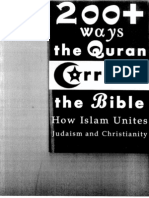 200+ ways the Qur'an Corrects the Bible