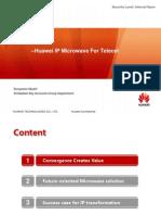 Huawei IP Microwave for Telecel Zimbabwe