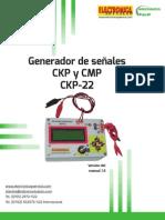 Probador de computadoras autmotrices CKP-22 versión 1.5