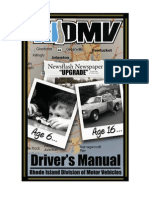Rhode Island - Drivers Manual 2013