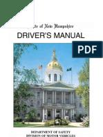 New Hampshire Drivers Manual.