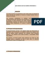 Conceptos básicos de los modelos Orientados a Objetos