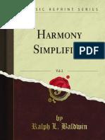 HARMONY SIMPLIFIED