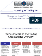 Ferrous Processing and Trading Scrap Metal Business Overview