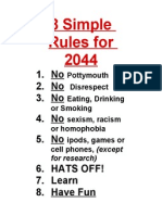 8 simple rules for2044