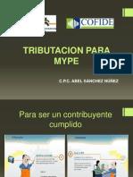 Abel Sanchez Tributacion Para Mypes