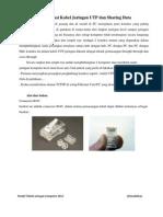 Kabel UTP dan Sharing Data