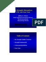 Dry Strength Alternatives - CMC and Guar Gum