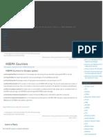 HSDPA Counters