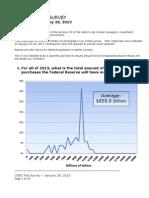 CNBC Fed Survey - January 29, 2013