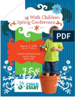 Growing With Children & Director's Chair Registration Brochure