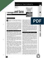 Management Gurus Teacher's Notes