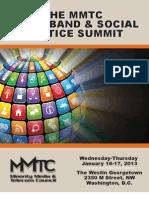 BBSJ Summit 2013 Program