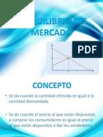 Diapositiva de Equilibrio Mercadooooo
