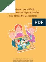 TDA-H Guía para padres y educadores