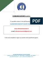 COMUNICAZIONE CIRCA IL SITO