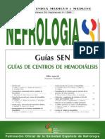 norma española para la realizacion de cubiculo de hemodialisis