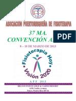 Promoción Convención APF PR 2013