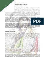 Biografias Zapata, Marti y Gaitan.[1]