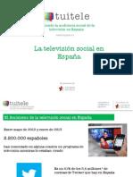 La televisión social en Espana (informe de Tuitele)