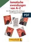 Idiomatischee Redewendungen Von a-Z