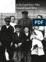 Research in the Land Entry Files