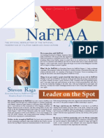 NaFFAA National Newsletter, January 2013 Issue