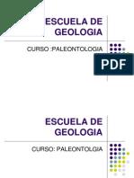 Cap. I Paleontologia