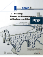 RCMP Corruption in Policing Causes and Consequences