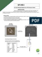Aiphone Model GF-HID-I Instr- Westside Wholesale - Call 1-877-998-9378