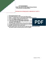 Aiphone Model GF-NS, GF-MK Reset Procedure- Westside Wholesale - Call 1-877-998-9378