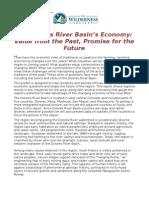 The Dolores River Basin's Economy
