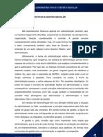 APOSTILA DE TEORIAS ADMINISTRATIVAS E GESTÃO ESCOLAR