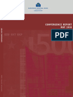 ECB - Convergence report, May 2010