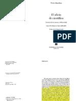 El oficio de científico de Pierre Bourdieu