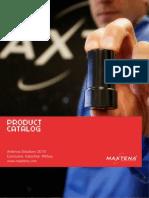 Maxtena Product Catalog 2013
