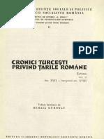 Cronici turcesti despre Tarile Romane-Vol. 2
