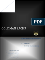 Goldman Sachs-key facts