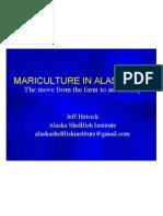 ACMP MARICULTURE IN ALASKA 2010