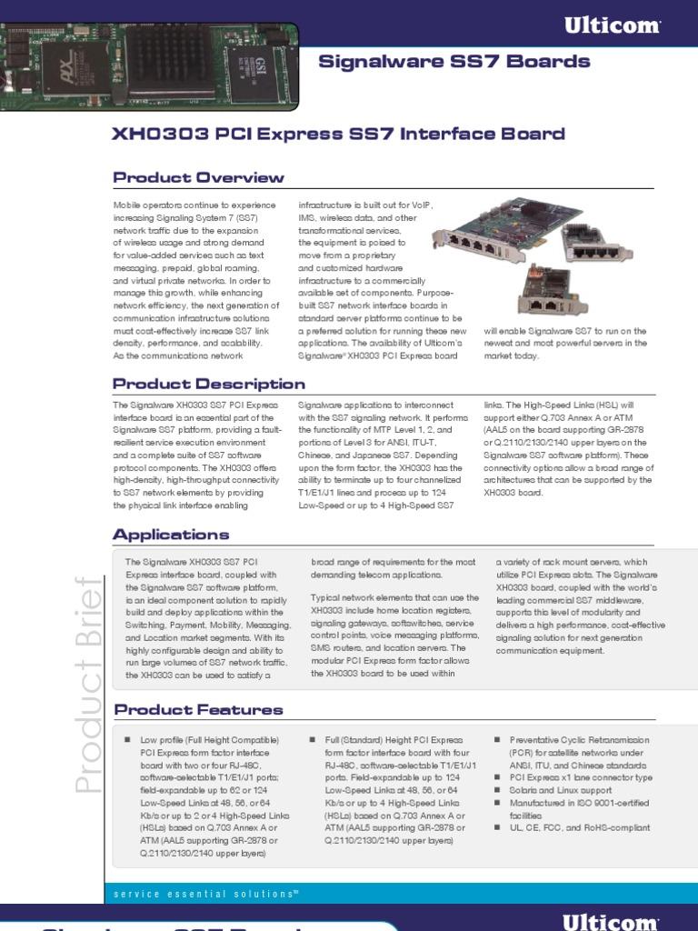 ss7 board | Network Architecture | Computer Network