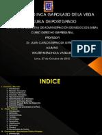 Inversion, Project Finance, Concesiones, App. w.menchola 271012 Ppt
