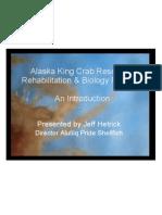 Alaska King Crab Research