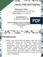 infeksi ruang prevertebral