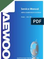 Daewoo_AXL-128 Mini Componet System Sm