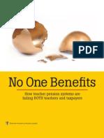 No One Benefits