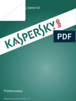Manual Kaspersky Security Center 9