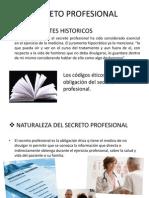 Etica. Secreto Medico