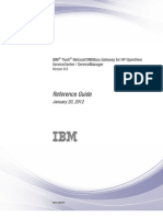 IBM Tivoli Netcool_OMNIbus Gateway for HP OpenView ServiceCenter - ServiceManager Version 8.0 - hpscgw-pdf
