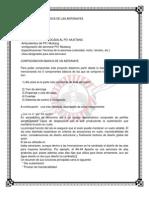 Configuracion Basica de Las Aeronaves INVESTIGACION